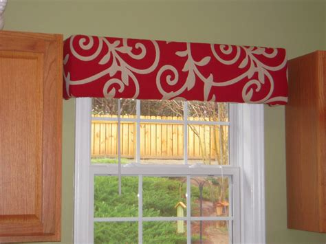 Kitchen Window Cornice Restored Thru Grace Cornice Board Window Treatments