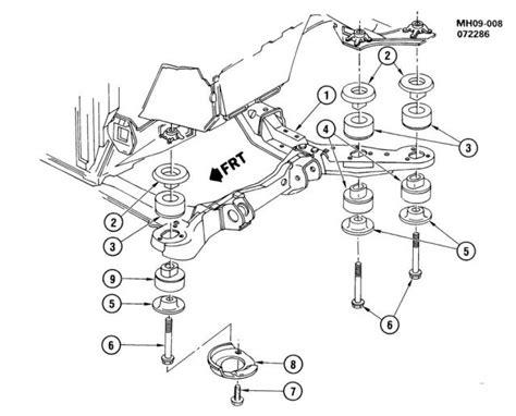 write  subframecradle mount insulators bushings page