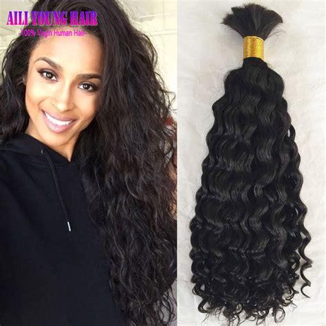 ali baba expression 100 human hair braiding hair box braid best selling loose kinky curly human braiding hair bulk no