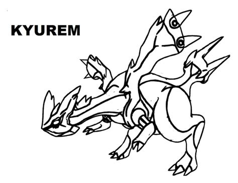 pokemon coloring pages kyurem free legendary pokemon coloring pages for kids