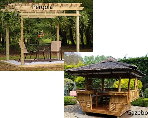 pergola vs gazebo homeverity com