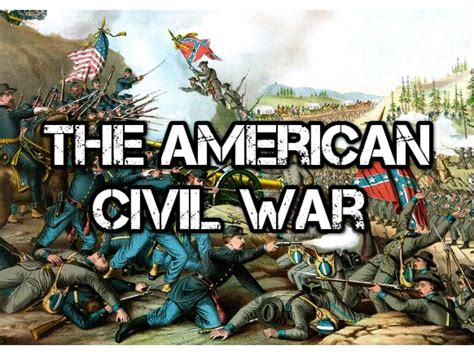 In The Civil War what is the civil war a brief history of the american