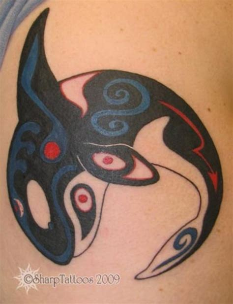 tribal tattoos killer whale orca picture at checkoutmyink