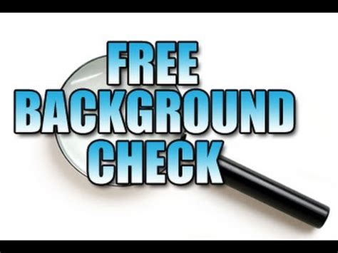 Legit Free Background Check Background Check Scam Free Background Check