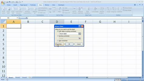 xml tutorial exles data analysis excel 2010 download free professional