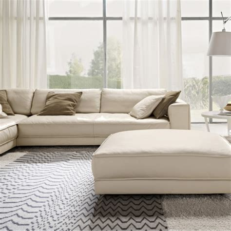 minerale luxury italian leather corner sofa