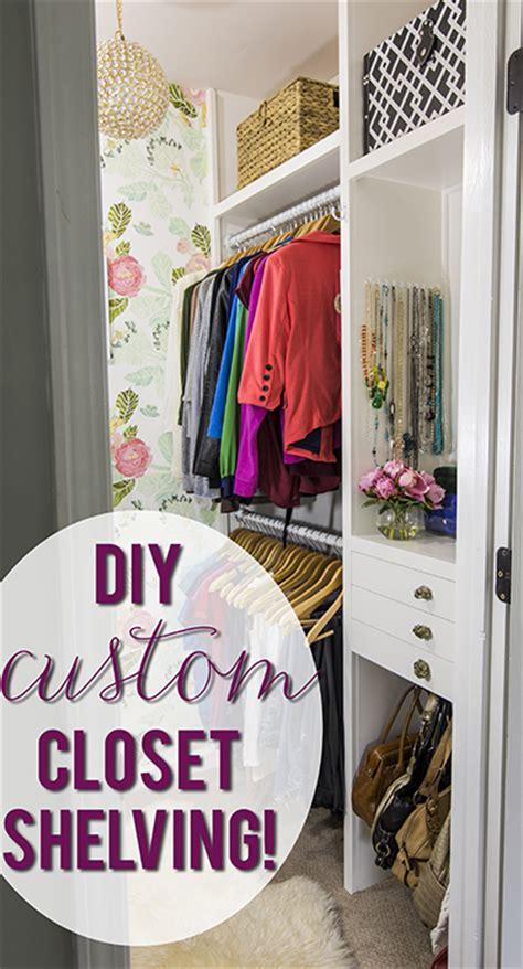 Build Your Own Custom Closet Diy Build Your Own Custom Closet Shelving Plans Free