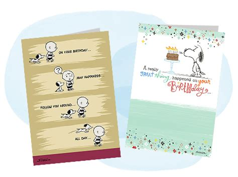 Hallmark Business Gift Cards - peanuts gifts and cards snoopy and charlie brown