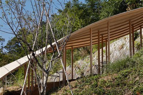 pavillon faltdach gallery of roof mushrooms pavilion ryue nishizawa