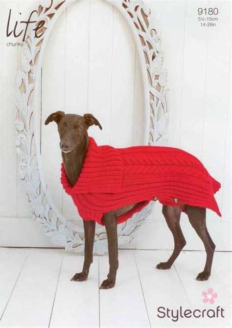 knitting pattern for dog coats uk stylecraft 9180 knitting pattern cabled dog coat in life
