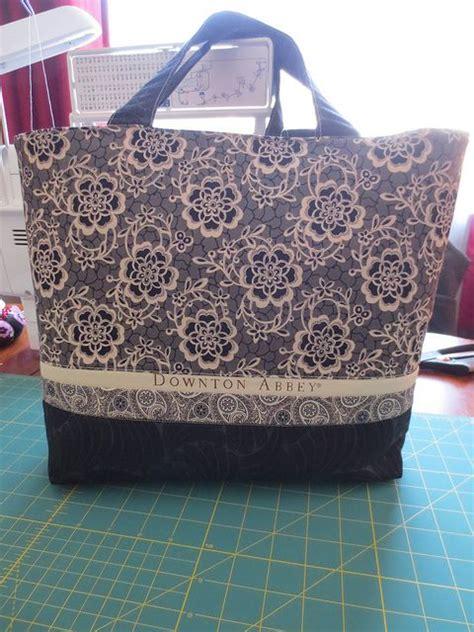 tuscany tote bag pattern downton abbey dowager countess tote bag got the kit