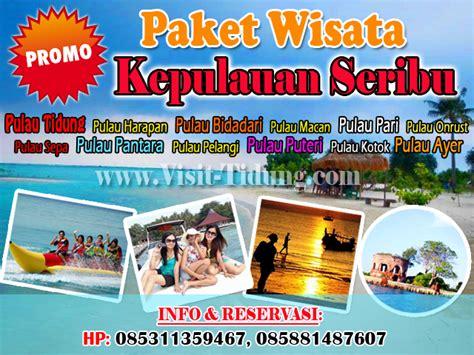 promo paket m3 gratis 2018 promo paket wisata murah pulau tidung 2018 paket wisata