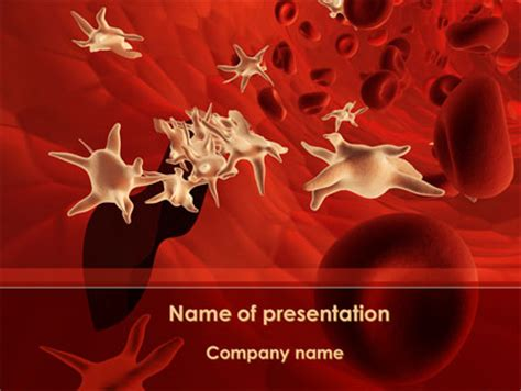 powerpoint themes virus blood capillary powerpoint templates and backgrounds for