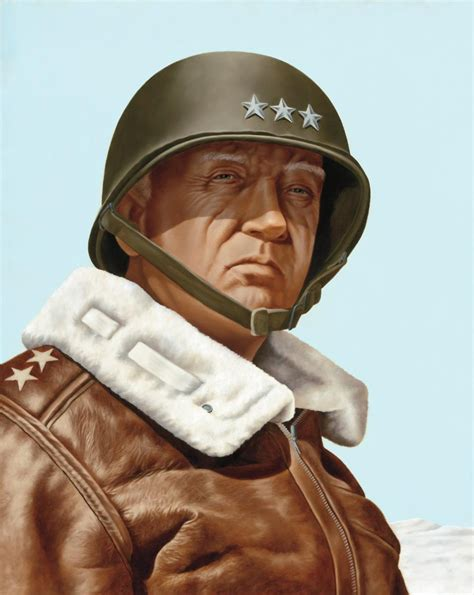 general george patton general george s patton he led with boldness and clear