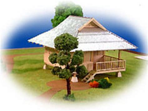 Small House Designs Thailand Thai Floor Plans 50 000baht Pond Side Hut