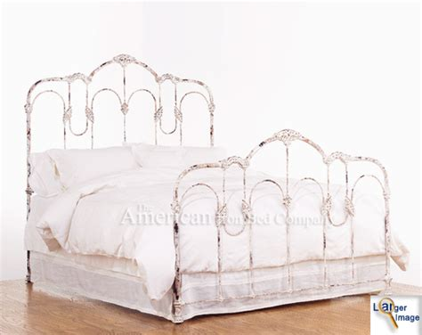 White Iron Headboard by Iron Beds The American Iron Bed Co Bayview Iron Bed
