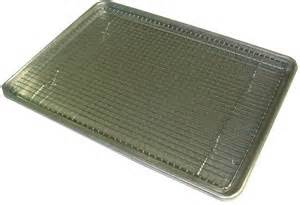 jelly roll pan cookie sheet 18 quot x13 quot wire cooling rack ebay