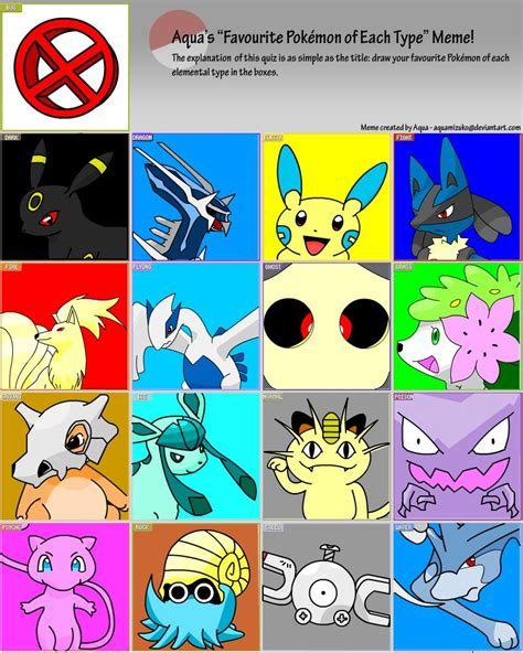 Favorite Pokemon Meme - favorite pokemon meme template images pokemon images
