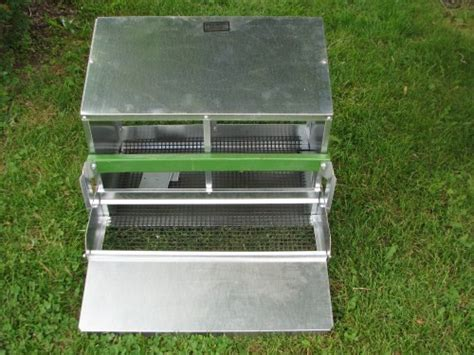 two nest rollaway roller egg chicken nesting boxes