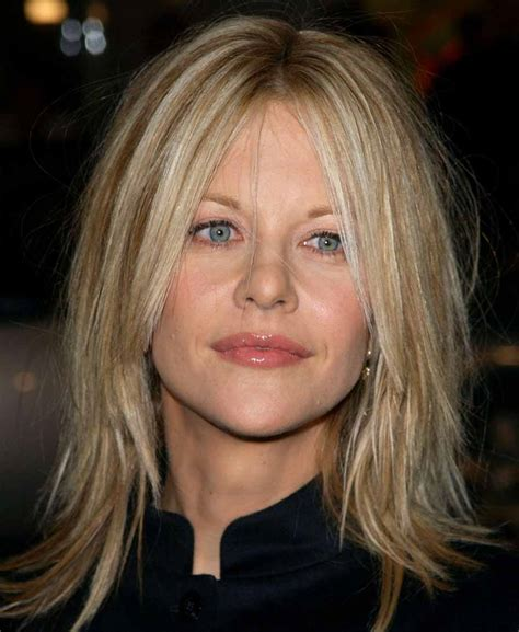 famous people with choppy bobs celebrities hairstyling meg ryan hairstyles