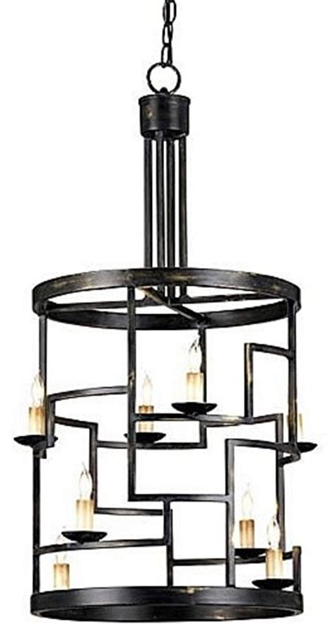 who is the manufacturer of the foyer light currey company spyro foyer lantern modern pendant