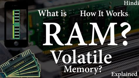 is ram volatile what is ram what is volatile memory how ram