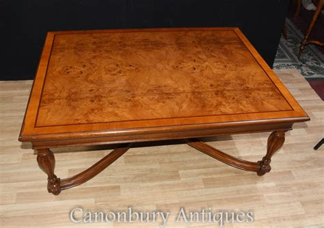 regency coffee table walnut regency coffee table furniture tables