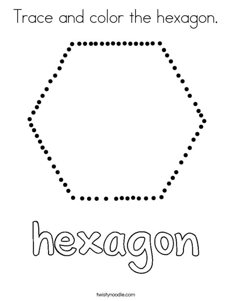 tracing and coloring heartfelt holidays an tracing and coloring book for the holidays books trace and color the hexagon coloring page twisty noodle