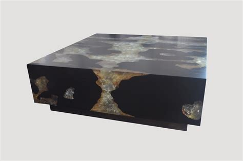 cracked resin coffee table cracked resin coffee table agb1 andrianna shamaris
