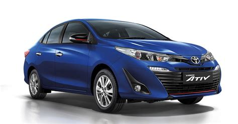 New Yaris new toyota yaris hatch and yaris ativ sedan launched in asia autoevolution