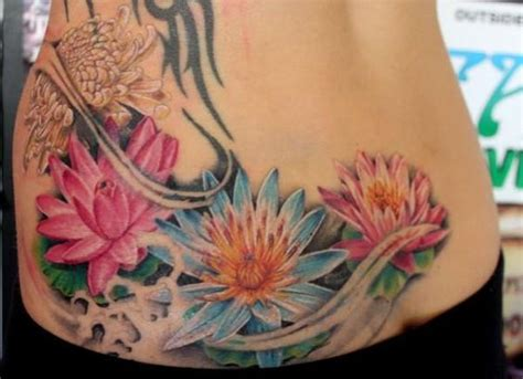 water lily tattoo designs water tattoos japanese water coolest