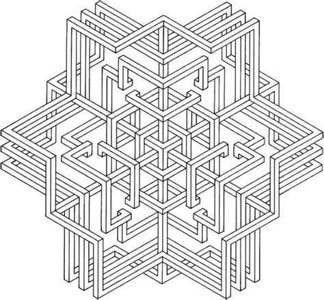 coloring pages printable geometric free geometric coloring pages for adults