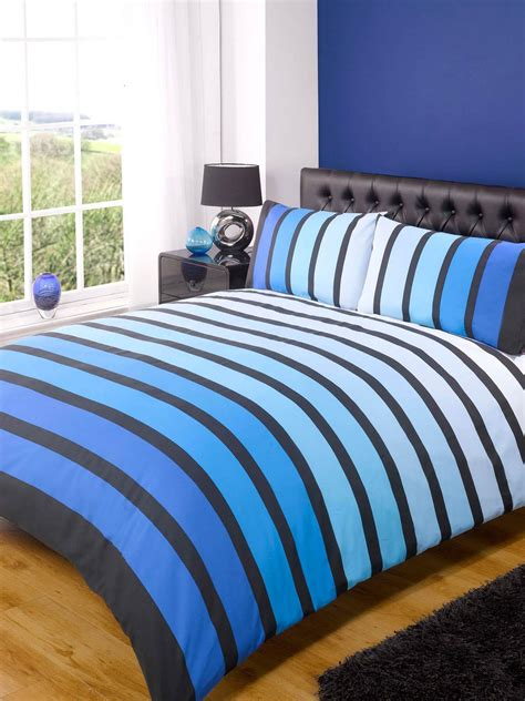 Blue Bed Covers Soho Duvet Cover Set Blue Free Uk Delivery Terrys Fabrics
