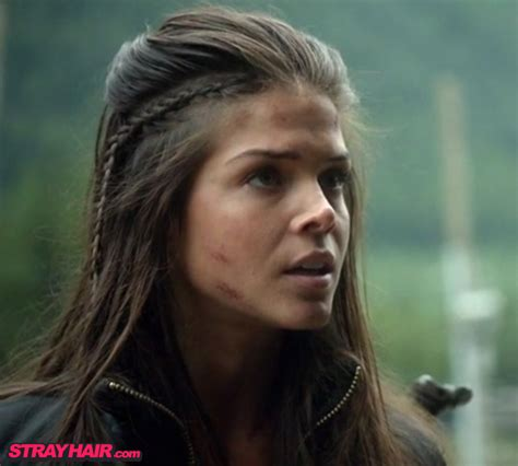 100 Old Hairstyles | marie avgeropoulos octavia in the 100 awesome hairstyle