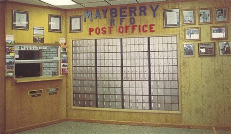 Mt Airy Post Office by Post Office Photo Collection Post Collectors Club