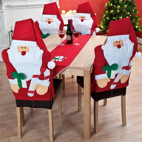 decorate your dinning with these lovely christmas chair