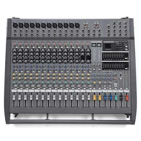 Samson Powered Mixer S4000 by Samson S4000 Powered Mixer At Gear4music