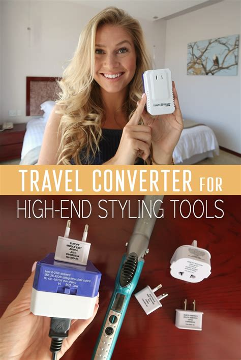 Conair Fuse Hair Dryer travel converter for high end styling tools the