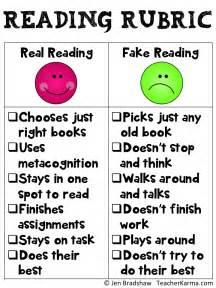 Reading Essay Rubric by Classroom Freebies Real Reading Rubric Freebie