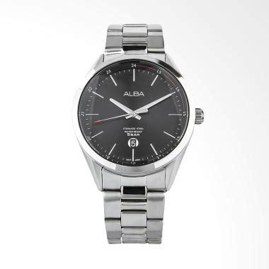 Jam Tangan Pria Alba White Black alba jual jam tangan alba original harga murah blibli