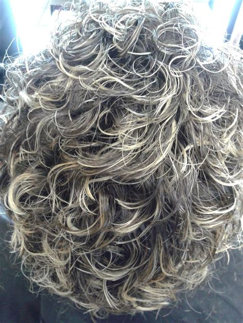 best perm for gray hair 25 best ideas about short permed hair on pinterest