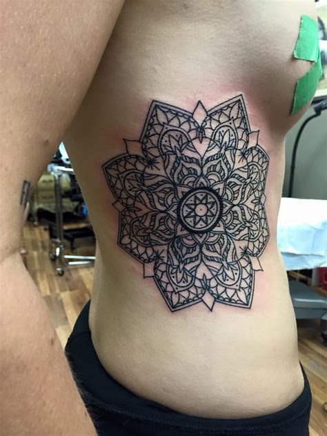 milwaukee tattoo shops mandala done by chris burke at serenity ink
