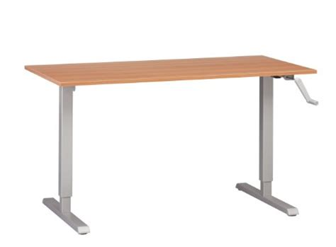 Black Friday Adjustable Height Desk Or Table Silver Base Cheap Adjustable Height Desk