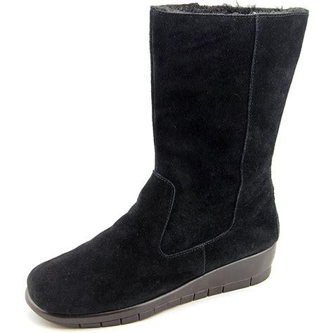 aerosoles plantation toe suede winter boot ebay