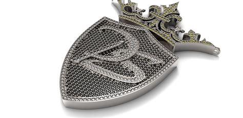 Handmade Diamonds - crafted custom pendant encrusted with cut