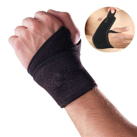 Sculpture Magnetic Wrist Support Limited magnetic wrist support brace band carpal tunnel sprains strain in braces