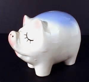 pig piggy bank snooty piggy bank 01