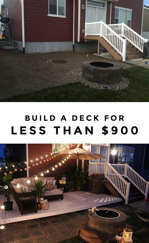 backyard decks on a budget best 25 floating deck ideas on pinterest