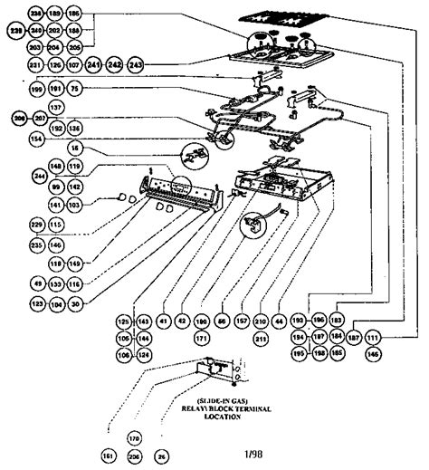 frigidaire stove parts diagram frigidaire electric range parts diagram automotive parts