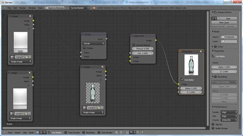 blender tutorial render layers compositor using scenes and render layers to composite